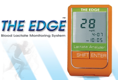 The EDGE Blood Lactate Tester